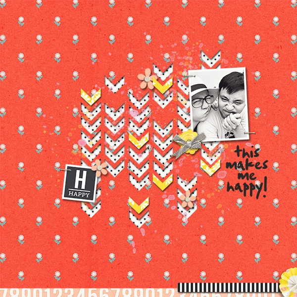 Happy layout created by huyengtrang43 featuring Pure Happiness by Sahlin Studio