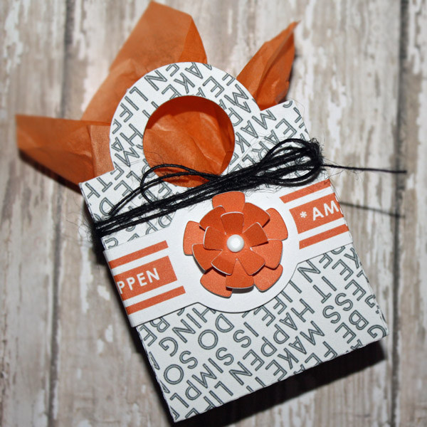 "Treat Bag Inspiration using ""Like a Boss"" (Kit, Journal Cards) by Sahlin Studio"