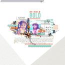 "Digital Scrapbook Inspiration using ""Like a Boss"" (Kit, Journal Cards) by Sahlin Studio"