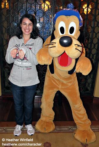 Pluto Puppy Pose