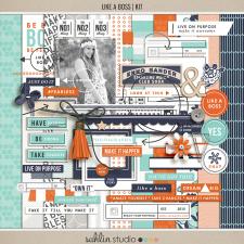 Like a Boss (Kit) by Sahlin Studio