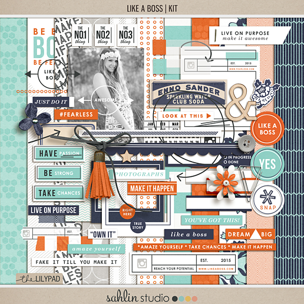 Jessica Upton | Project Life Layout