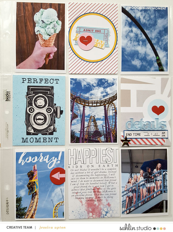 Project Life inspiration page  using Project Mouse: Main Street by Britt-ish Designs and Sahlin Studio