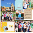 Project Life inspiration page by britt using Project Mouse: Main Street by Britt-ish Designs and Sahlin Studio