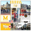 Project Life inspiration page by justine using Project Mouse: Main Street by Britt-ish Designs and Sahlin Studio