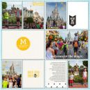 Project Life inspiration page by lcpereyra using Project Mouse: Main Street by Britt-ish Designs and Sahlin Studio
