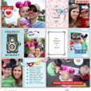 Disney Project Life inspiration page using Project Mouse: Main Street by Britt-ish Designs and Sahlin Studio
