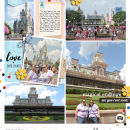 Project Life inspiration page by yzerbear19 using Project Mouse: Main Street by Britt-ish Designs and Sahlin Studio