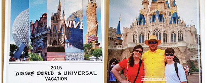 A Disney / Universal Vacation – A Printed Album by Angie Kyle using Project Mouse by Sahlin Studio