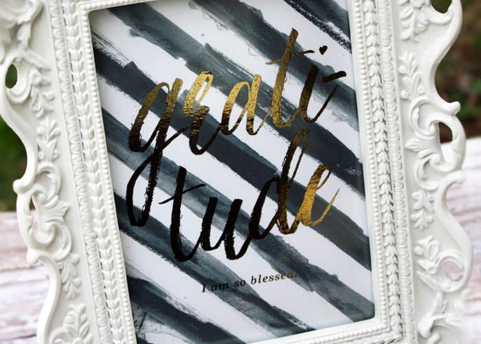 Tanya Alley | Foiled Framed Art