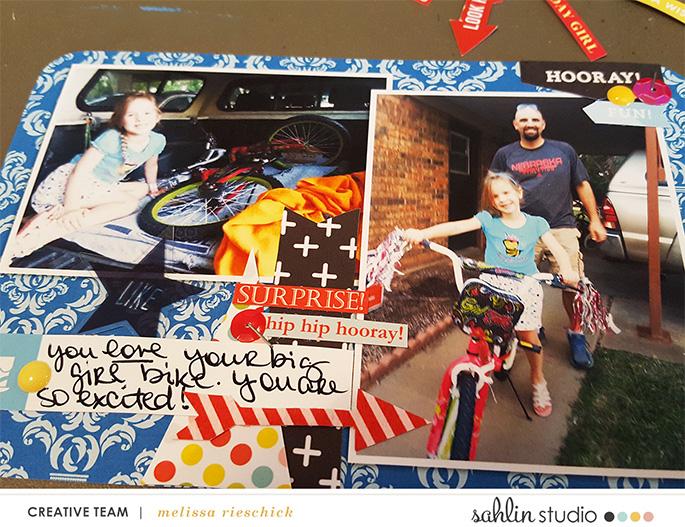 Melissa Rieschick Project Life Layout|Sahlin Studio