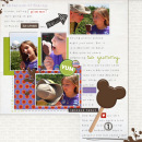 digital scrapbooking layout featuring Candy Shop by Britt-ish Designs and Sahlin Studio