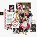 digital scrapbooking layout featuring Say It With Metal: What a Character by Sahlin Studio