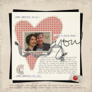 digital scrapbooking layout featuring Text on Path: Classic by Sahlin Studio