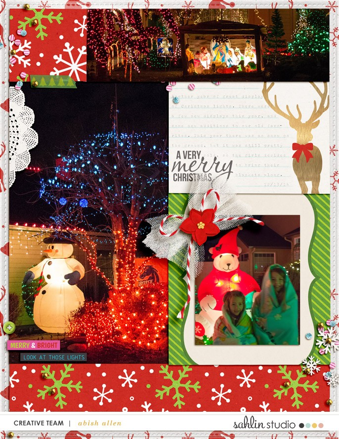 digital scrapbooking layout created by aballen featuring Project Mouse (Christmas) by Britt-ish Designs and Sahlin Studio
