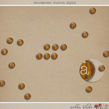 Woodgrain Button Alpha by Sahlin Studio