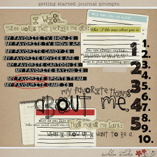 Getting Started: Journal Prompts by Sahlin Studio