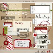 Holiday Mixed Media by Sahlin Studio