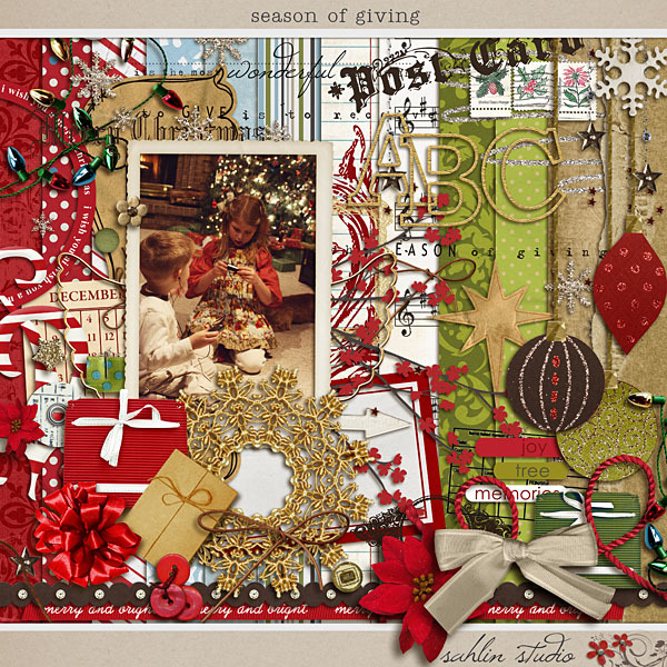 Season of Giving by Sahlin Studio