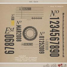 Est. Date by Sahlin Studio