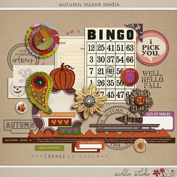 Autumn Mixed Media by Sahlin Studio
