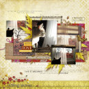 digital scrapbook layout featuring So Grateful by Sahlin Studio an Sugarplum Paperie