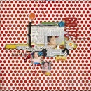 digital scrapbooking layout featuring Make a Wish by Valorie Wibbens and Sahlin Studio