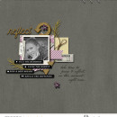 Reflect Digital Scrapbooking layout using Pause by Sahin Studio