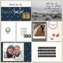 Pocket scrapbooking layout by FarrahJobling using Pause by Sahlin Studio
