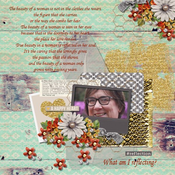 October Featured Kit Challenge Winner - carilyne featuring Reflection by Sahlin Studio