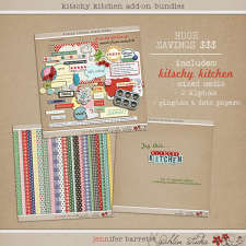 Kitschy Kitchen: Add On Bundle by Jenn Barrette and Sahlin Studio