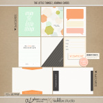 The Little Things|Journal Cards|AmberLaBau and Sahlin Studio
