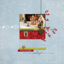 digital scrapbooking layout featuring Season of Giving Collection by Sahlin Studio