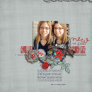 digital scrapbooking layout featuring UPC Barcode Dates by Sahlin Studio