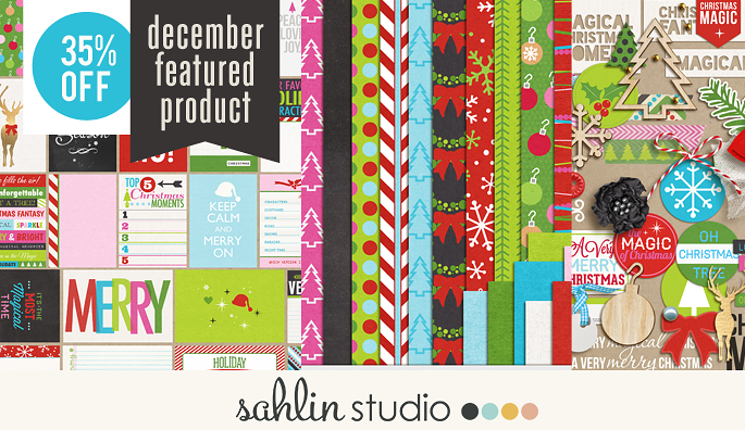 Project Mouse (Christmas): BUNDLE by Britt-ish Design and Sahlin Studio