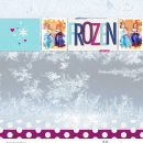 Frozen costumes digital scrapbooking page featuring Project Mouse: Ice by Britt-ish Designs and Sahlin Studio