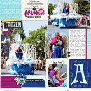 Disneyland digital Project Life layout featuring Project Mouse: Ice by Britt-ish Designs and Sahlin Studio