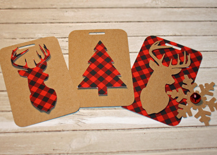 Tanya Alley | Mad For Plaid Christmas Gift tags