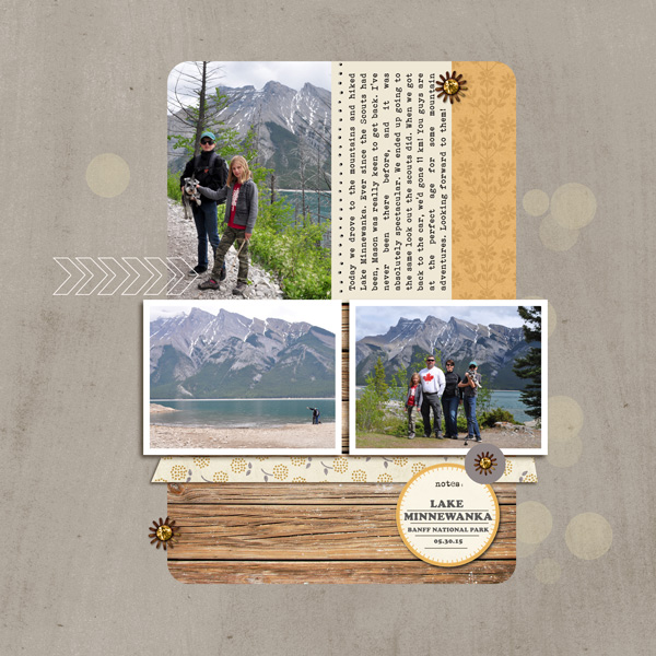 digital scrapbooking layout created by ctmm4 featuring Year of Templates Vol. 15 by Sahlin Studio - Digital scrapbook templates perfect for making pages in a snap!