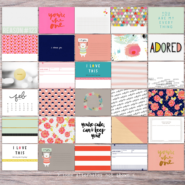 Memory Pockets Monthly (MPM) Kit & Journal Cards Subscription   ADORE at the LilyPad - Perfect for Project Life albums!!