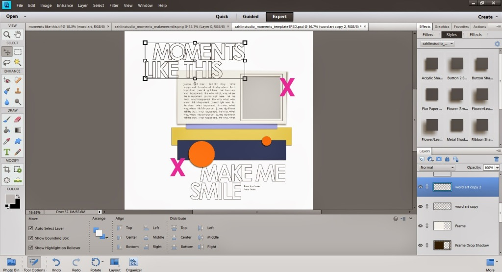 How to Bring Realism to your Digital Paint or Word Art by Crystal Livesay | Sahlin Studio