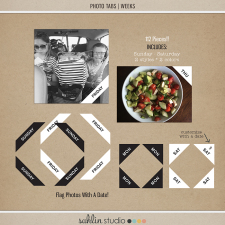 Photo Tabs | Weeks by Sahlin Studio - Perfect for Project Life or 365!!