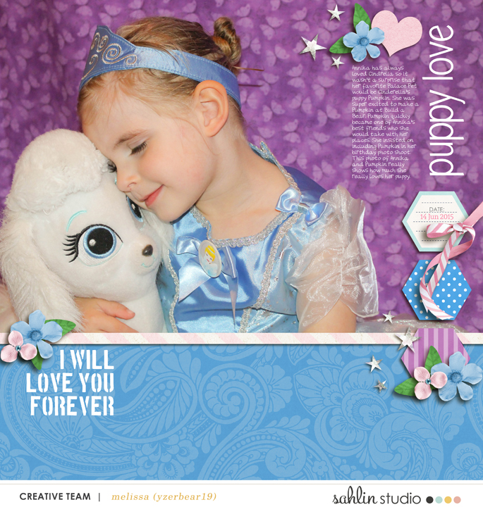 digital scrapbooking layout by yzerbear19 featuring Jan '16 FREE Template by Sahlin Studio