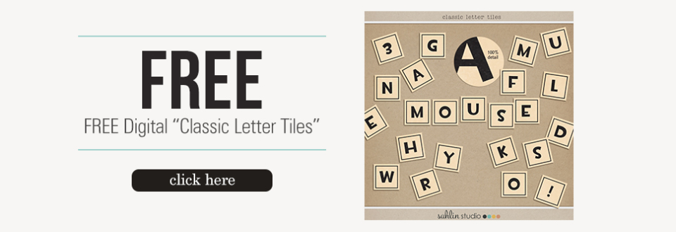 Free Classic Letter Alpha | by Sahlin Studio