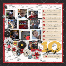 10Things digital scrapbooking page using Project Mouse: Classic by Britt-ish Designs and Sahlin Studio