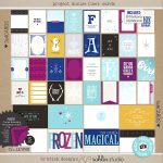 Melissa Rieschick Hybrid Project Life Layout using Ice by Sahlin Studio and Brittish Designs