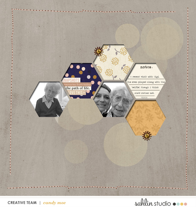 digital scrapbooking layout created by ctmm4 featuring March 2016 FREE Template by Sahlin Studio