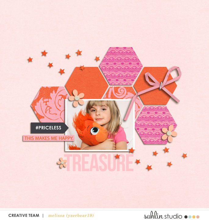 digital scrapbooking layout created by yzerbear19 featuring March 2016 FREE Template by Sahlin Studio