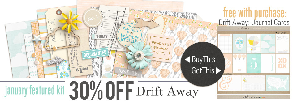 Apr '16 Featured Product | Drift Away