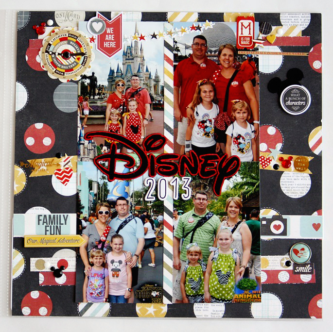 A Project Mouse Story - Danica Canaday - Scrapbooking Magical Memories using Project Life and Project Mouse by Britt-ish Designs and Sahlin Studio!!